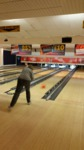 Another Zurich bowler aiming for a strike.
