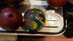 Bat Andrea's Psychedelic Bowling Ball
